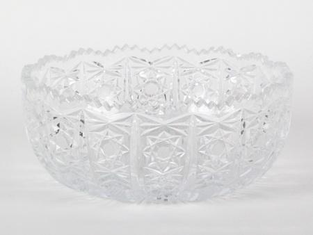 Bohemian Cut Crystal Centerpiece. Circa 1970 - IB08179