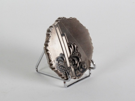 Niello 19th Century Silver Box - IB08185