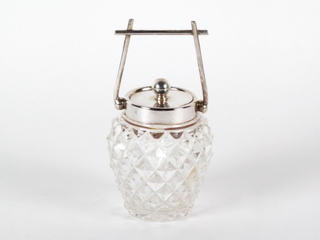 Silver Mounted Sugar Jar by J.P. - IB08190