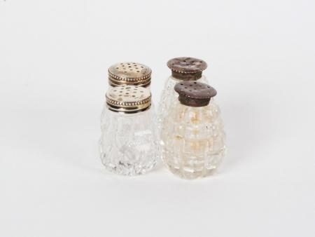 Austrian Sterling Silver Salt Shakers - IB08244