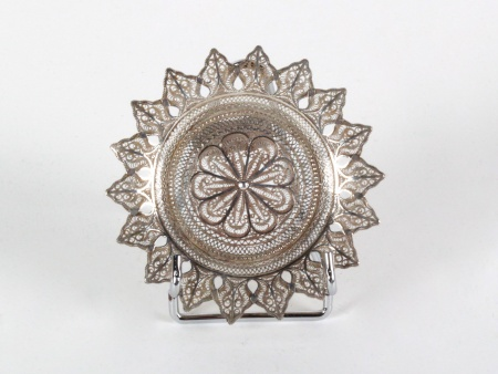 Silver Filigree Coaster - IB08256