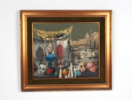 "Jean Calogero: ""Still Life With Masks"" - IB08265"