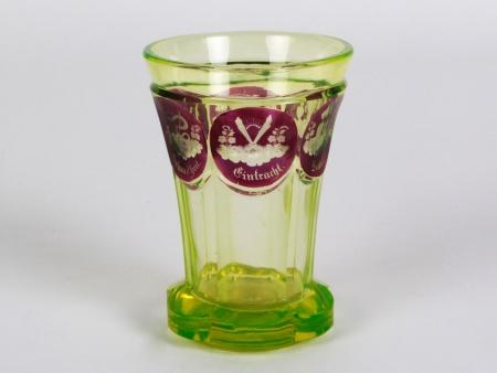 19th Century Uraline Bohemian Glass - IB08292