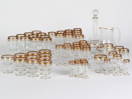 French Crystal Glass Set - IB08298