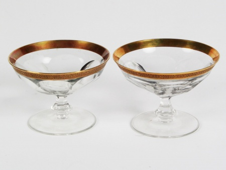 "Pair of Moser Crystal ""Drageoir"" - IB08350"