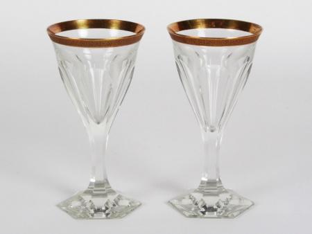Pair of Moser Glasses Lady Hamilton - IB08352