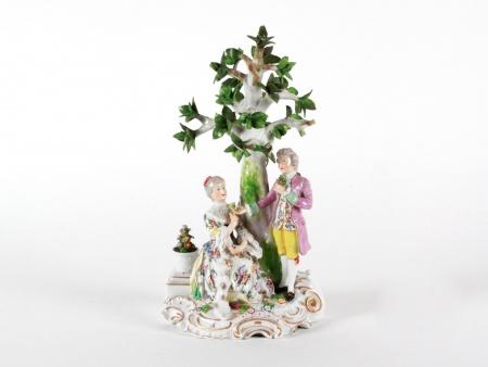 Vienna Austria Porcelain Group - IB08389