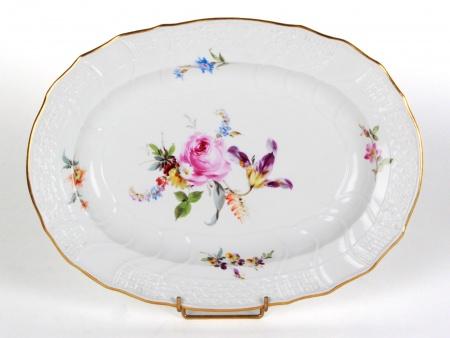 Meissen MSS13 Porcelain Oval Platter - IB08405