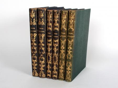 Six 19th Century French Books - IB08423
