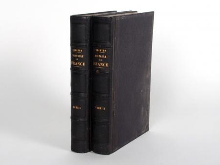 "Two Volumes ""Histoire de France"" - IB08436"