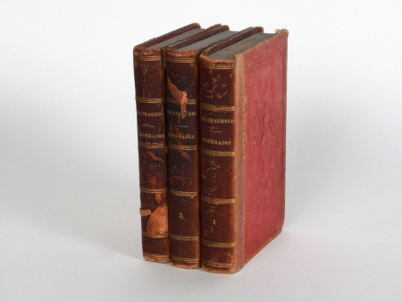Set of Three Books by Chateaubriand - IB08442