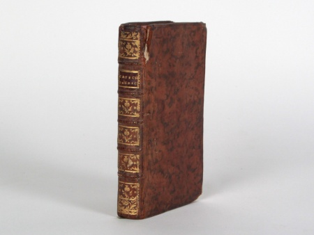 18th Century Leather Binded French Book - IB08444