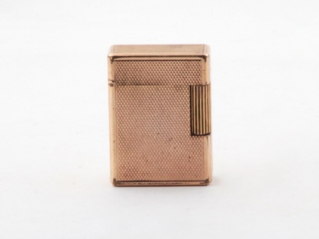S.T. Dupont Gold Plated Lighter - IB08486