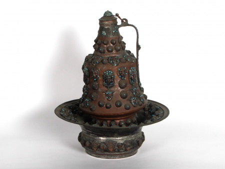 19th Century Indo-Persian Ewer and Basin - IB08506