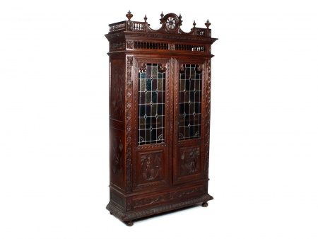 19th century French Brittany Wardrobe - IB08507