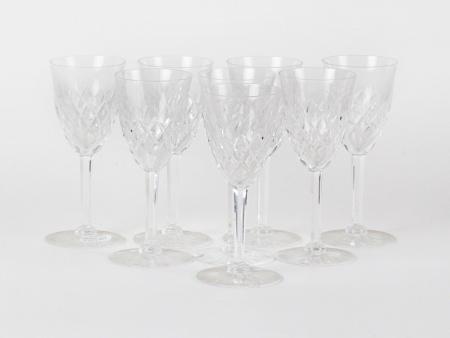Huit Verres à Vin en Cristal - IB08552