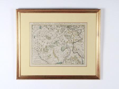 """Old Map """"Nouvelle carte des Etats du Grand Duc de Moscovie en Europe"""" - IB08560"""