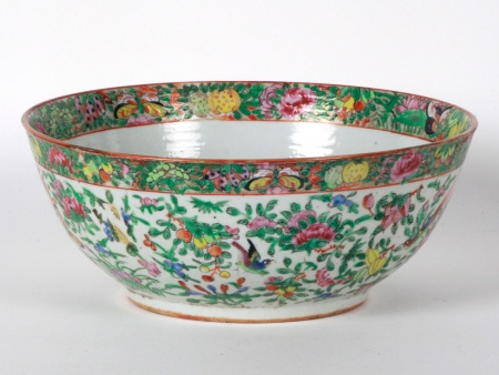 Large Chinese Canton Bowl - IB08582