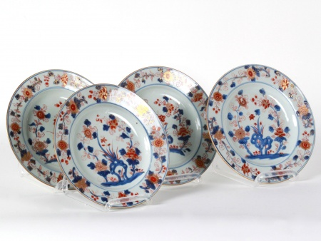 Four 18th century Chinese Imari Plates - IB08607
