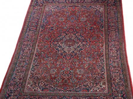 Antique Persian Kashan Carpet - IB08617