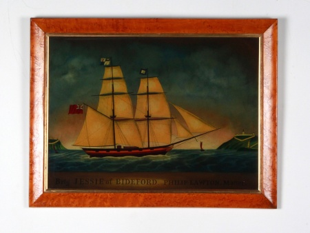 "منقوشة ل ""Philip Lawton"" تحت الزجاج - IB08628"