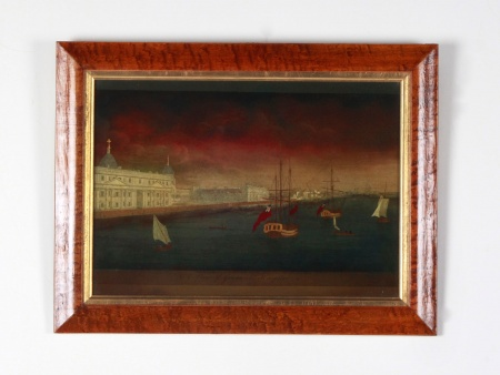 Antique 18th Century Under Glass Engraving by John Boydell - IB08630