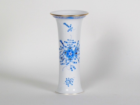 Herend Blue Pattern Vase - IB08676