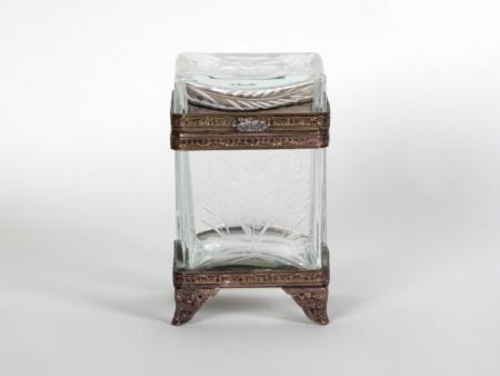Napoleon III Style Crystal Box - IB08681