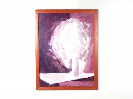 "Maurice Mante: ""Abstract Purple Tree"" - IB08701"
