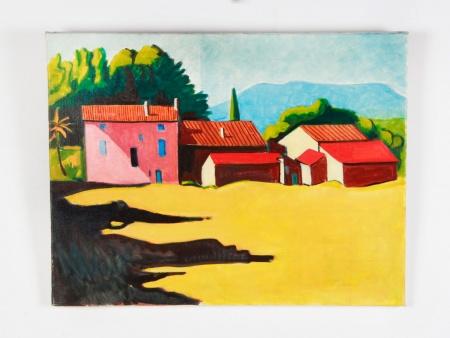 "Maurice Mulot: ""Les Maisons Rouges"" - IB08733"