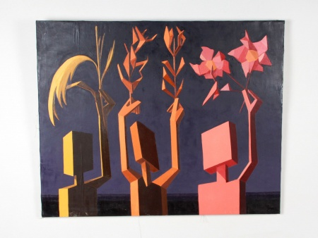 "Andrée Pollier: ""Geometric Composition"" - IB08823"