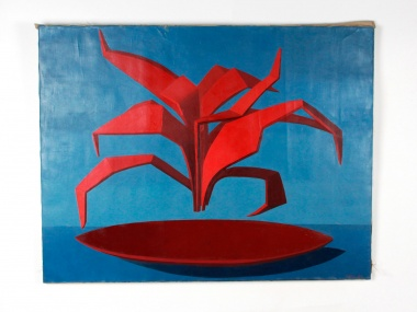 "Andrée Pollier: ""Geometric Composition"" - IB08827"