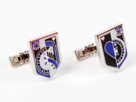 """Hermes Cufflinks """"Blason Casino"""" - IB08911"""