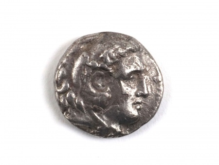 Silver Greek Tetradrachm of Alexander III. Weight: 16.1 grs - IB08962