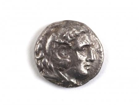 Silver Greek Tetradrachm of Alexander III. Weight: 16.1 grs - IB08962