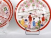 Pair of Small Japanese Porcelain Plates - IB00773