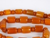 Big Necklace in Amber Resin and Indian Amber - IB03664