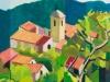 "Maurice Mulot: ""Toits de Village"" - IB08734"